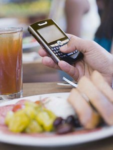 It's rude to have your phone out at every meal